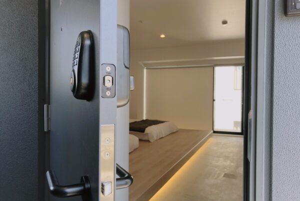 Door lock hotel room