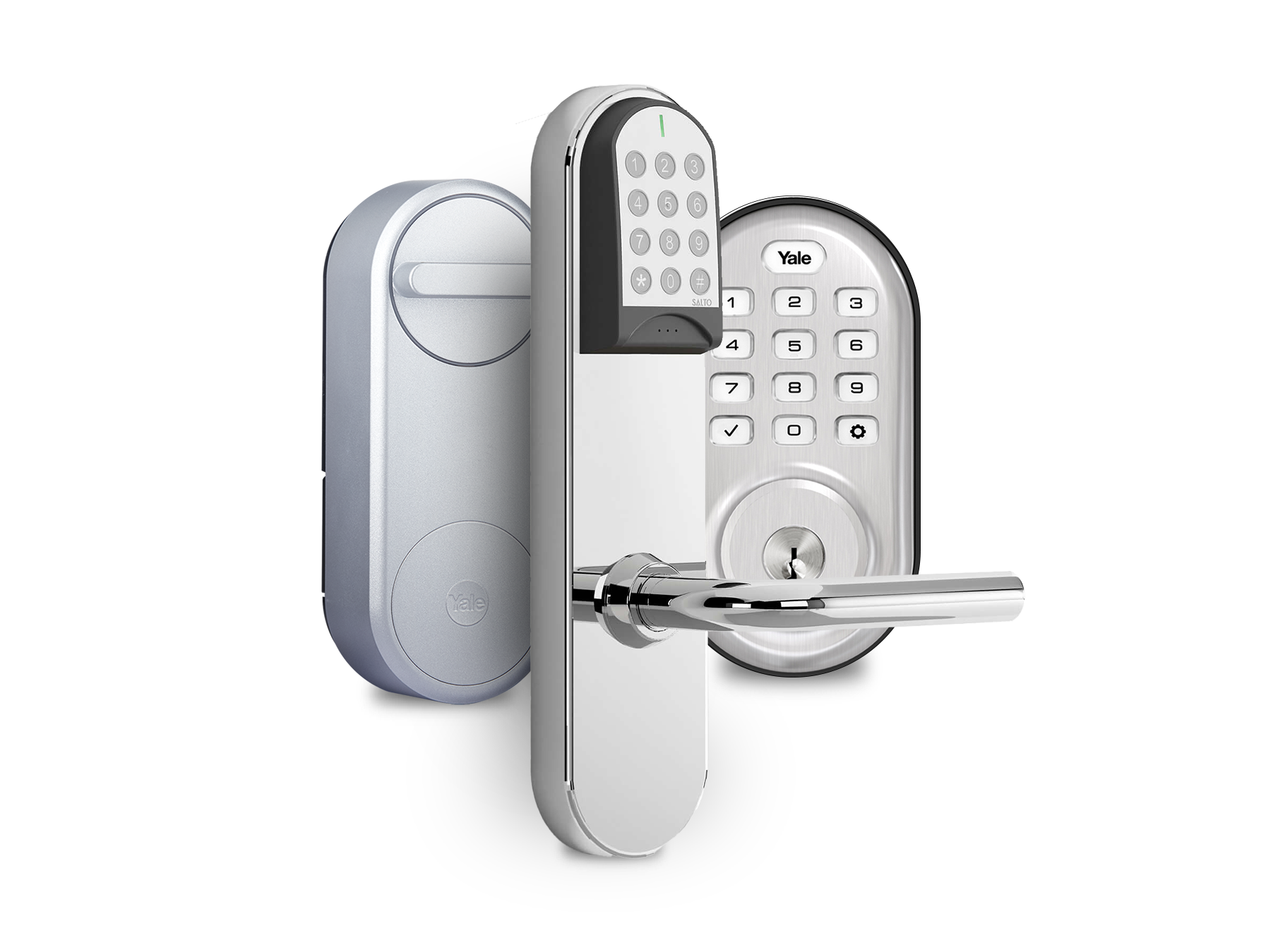 Operto Connect Smart Locks from Yale and Salto