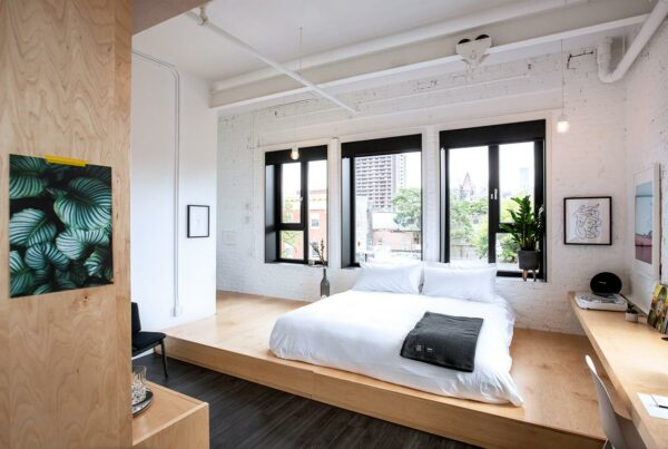 the annex toronto hotel bedroom