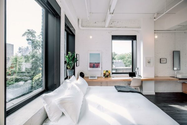 the annex hotel room