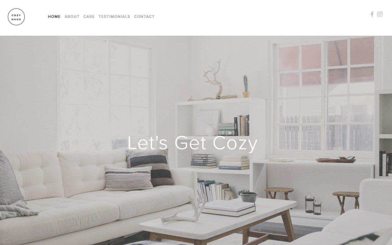 CozyHaus-website-screenshot