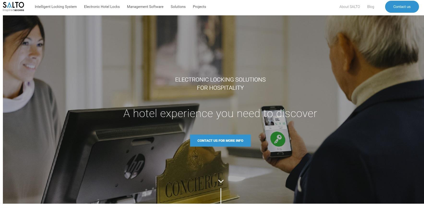 Salto website screenshot
