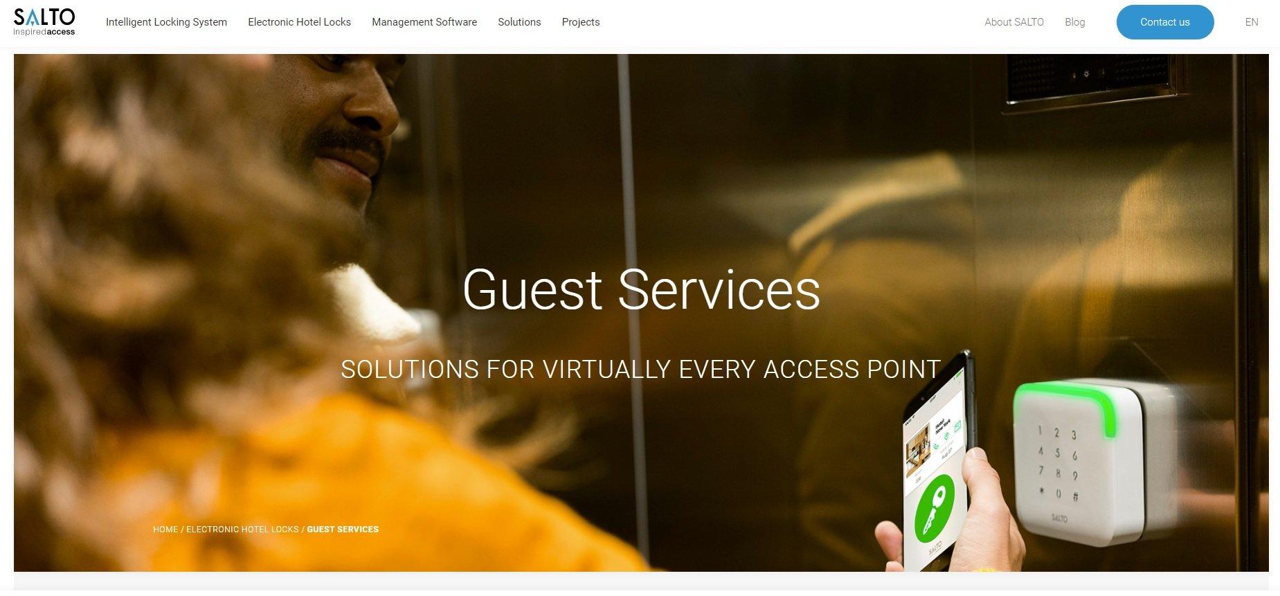 02_Salto Guest Services smartphone access screenshot