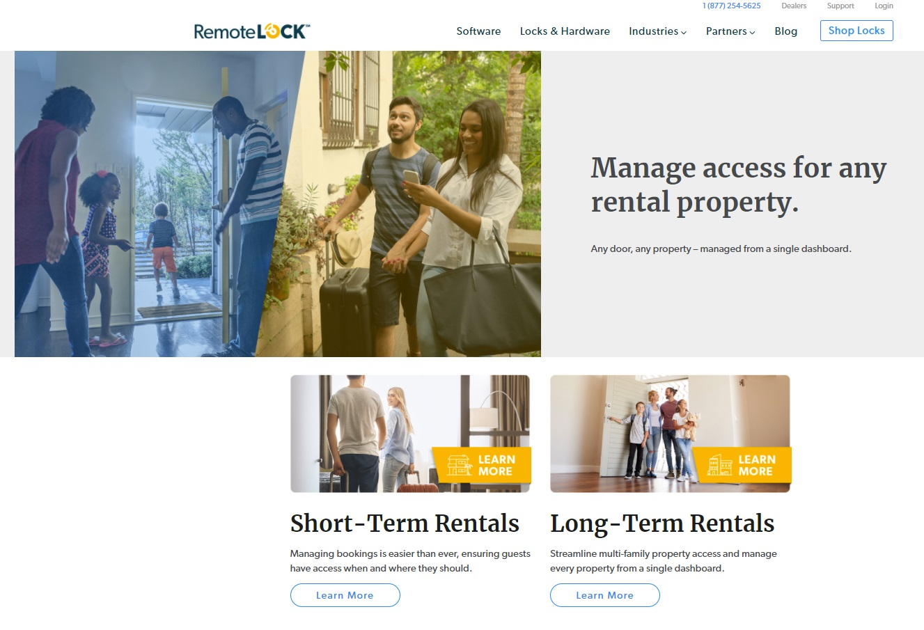 05_RemoteLock screenshot Short and Long Term Rentals