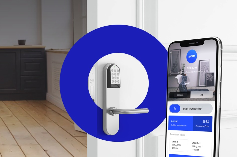 05_A screenshot of Operto's check in and smart lock platform