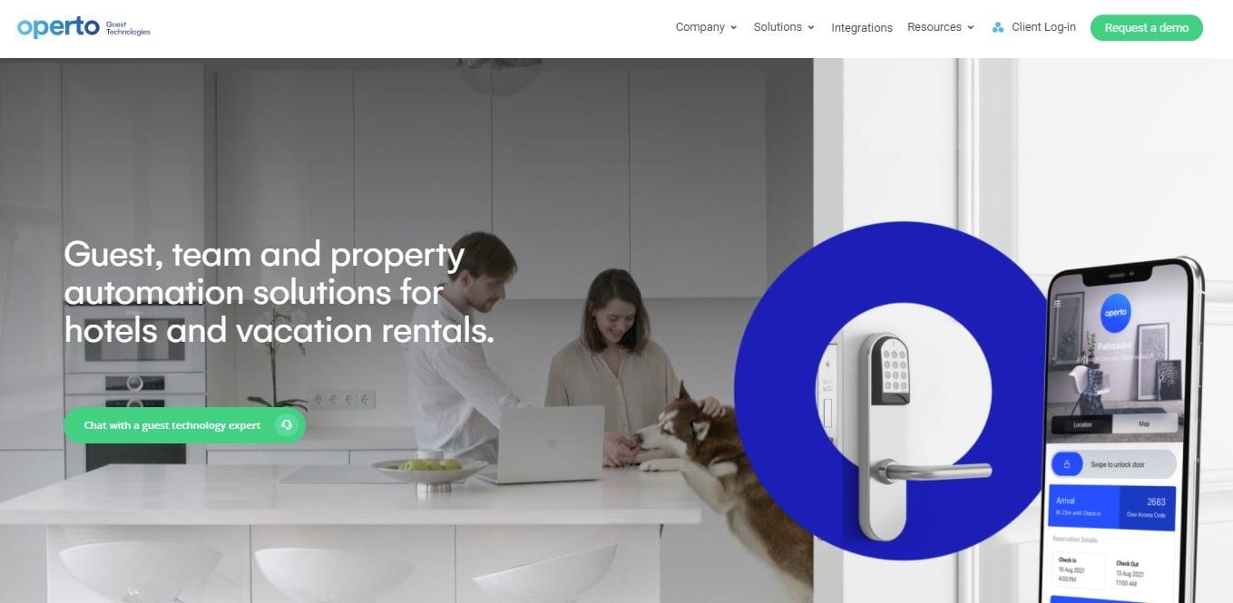 02_Operto website screenshot