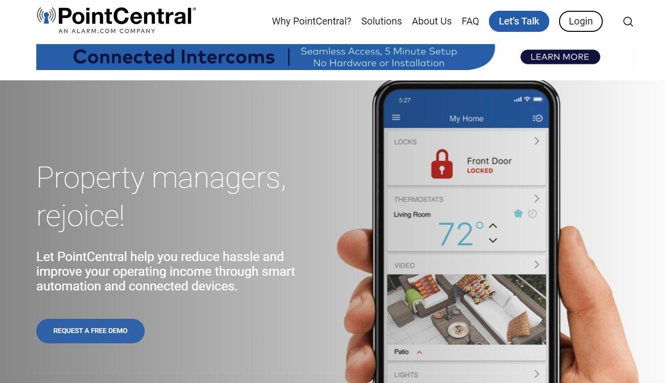 03_PointCentral website screenshot
